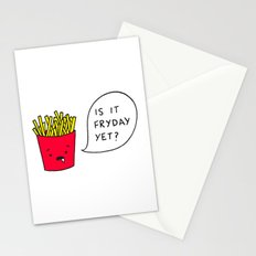 Is it Fryday yet? Stationery Cards