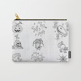 Halloween Themed Illustration Carry-All Pouch