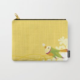 Spring Birds (Yellow) Carry-All Pouch