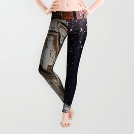 French Skies  Leggings
