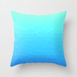 Deeper and Deeper Throw Pillow