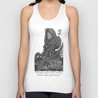 cthulhu Tank Tops featuring Cthulhu by IG Design