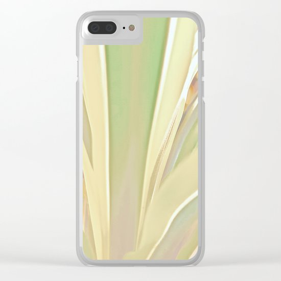 Grow, Body Flowing Out Of Spirit Clear iPhone Case