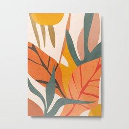 Abstract Art Jungle 5 Metal Print