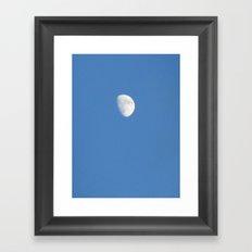 Just the Moon Framed Art Print