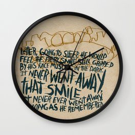 RIP Ray Bradbury Wall Clock