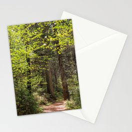 Forest Trail - Yosemite's Wawona Loop Trail Stationery Cards