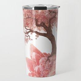 Cherry Tree and Rhodochrosite Travel Mug