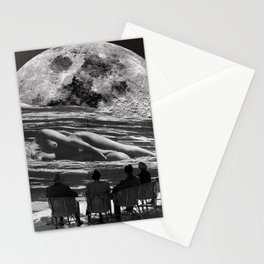 Moon Lady Stationery Cards