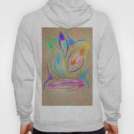 Colorful Lotus flower - uma releitura Hoody