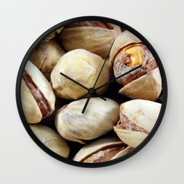 Pistachios Wall Clock