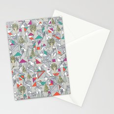 tangram town Stationery Cards