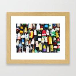 "Captured Photography Salt Series ""Buoys"" Framed Art Print"