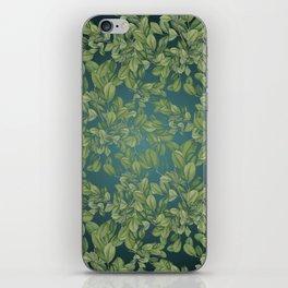 Verdant Leaves iPhone Skin