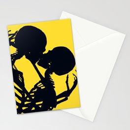 Skeleton love Stationery Cards