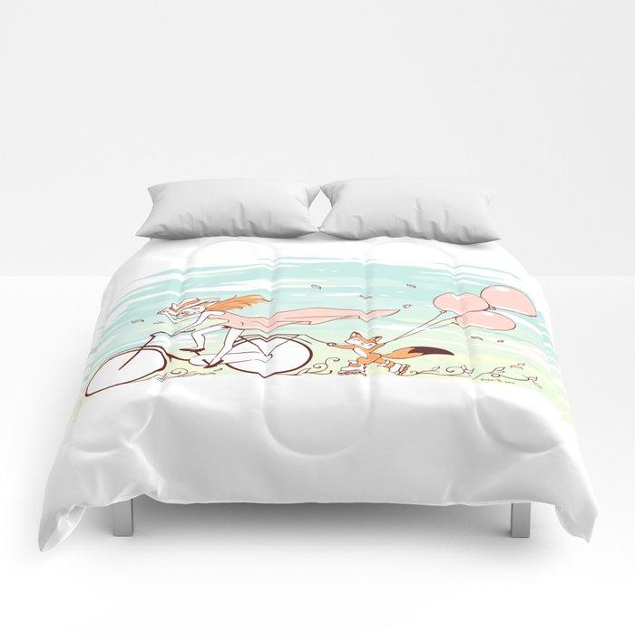 Spring Ride Comforters