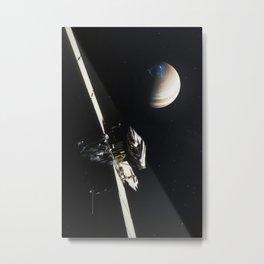 Juno - Jupiter Approach Metal Print