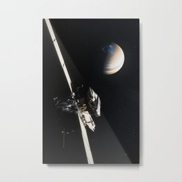 Juno - Jupiter Approach Metal Print