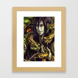 Serpent Lord Framed Art Print