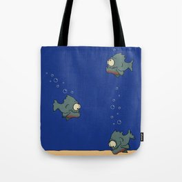 Feed The Fish Tote Bag