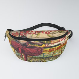 The Circus is in Town Fanny Pack