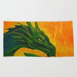 Sovereign Dragon Beach Towel