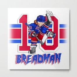 Breadman Metal Print