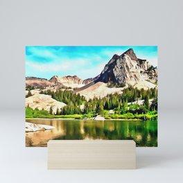 Lake Blanche Mini Art Print