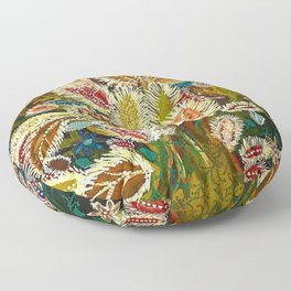 The Tree of Jesse (Flowering Tree) by Seraphine Louis Floor Pillow