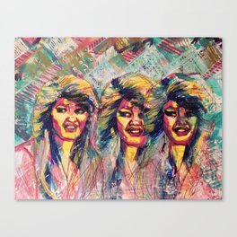 DJ Tanner Canvas Print