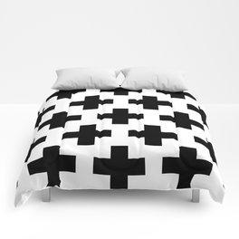 classic retro elegant geometric Yaksha Comforters