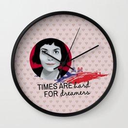 Dreamer Amelie  Wall Clock