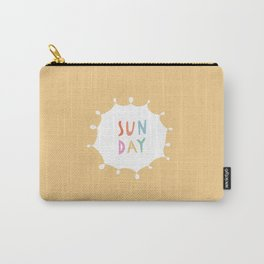Sunday in Yellow Carry-All Pouch