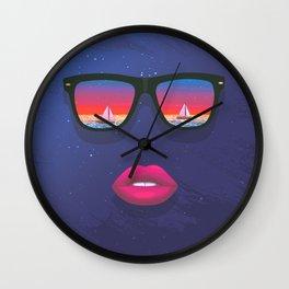 Sailing Dreams Wall Clock