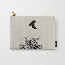 Exit Point  - Graphic Birds Series, Plain - Modern Home Decor Carry-All Pouch