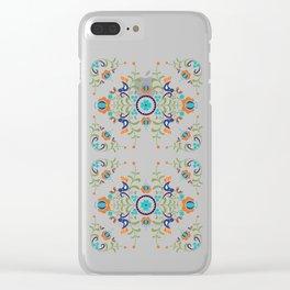 Hungarian folk art Clear iPhone Case