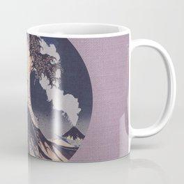 The Great Wave Off Kanagawa Erupting Mt Fuji Coffee Mug
