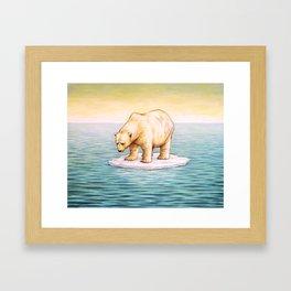 S.O.S. Framed Art Print