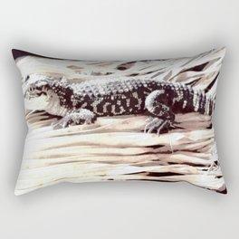 Baby Gator Rectangular Pillow