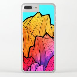 Summer top hills Clear iPhone Case