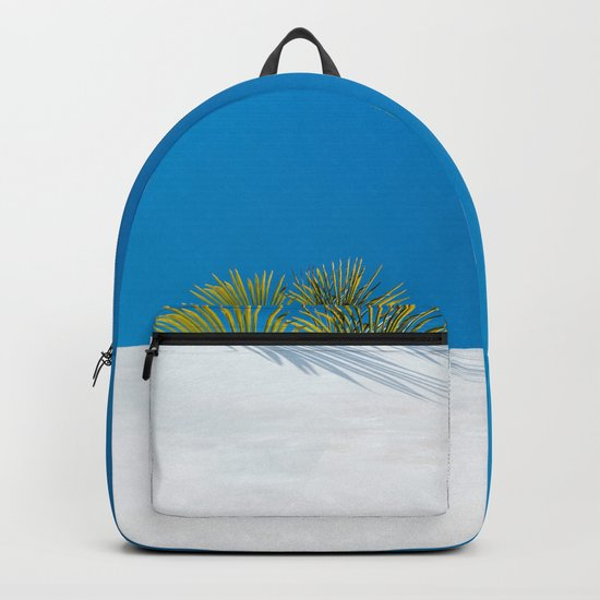 Over the tropical garden wall Backpack