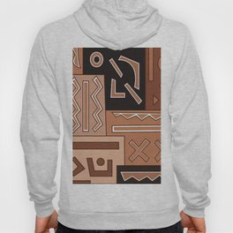 African Tribal Pattern No. 8 Hoody