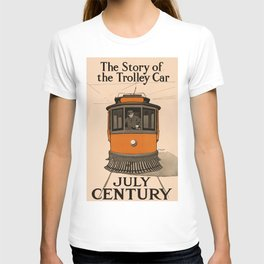 History of the Trolley car 1905 T-shirt