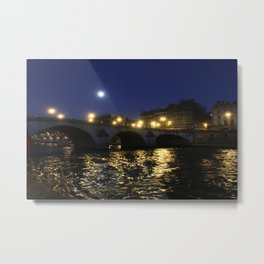Paris, France - Seine Metal Print