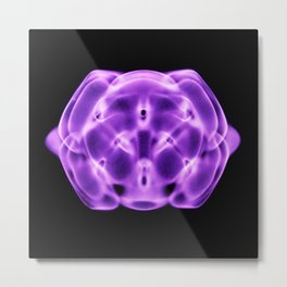 Purple Pill Metal Print