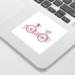 Bonjour! Bicycle Sticker