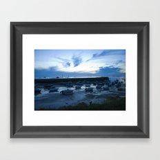 French Harbor Framed Art Print