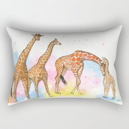 The Giraffes Rectangular Pillow