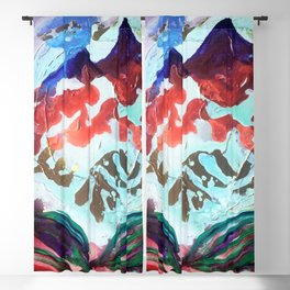 For purple mountain majesties Blackout Curtain