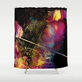 Violoncello art 1 #violoncello #cello #music Shower Curtain